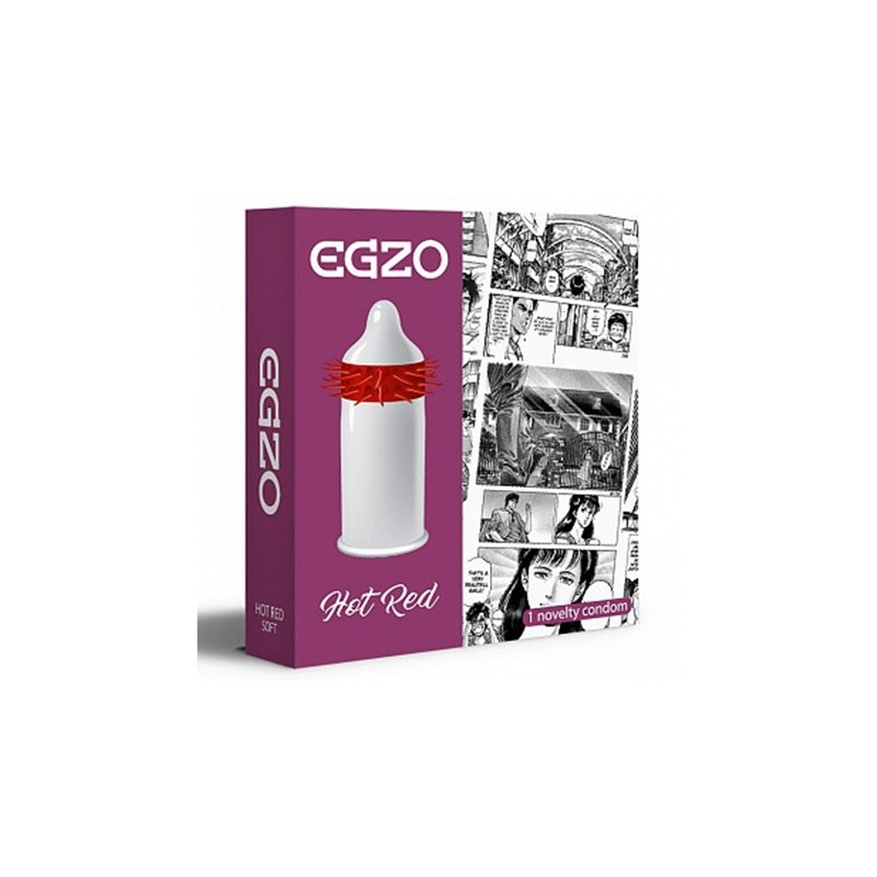 EGZO Hot Red pakend