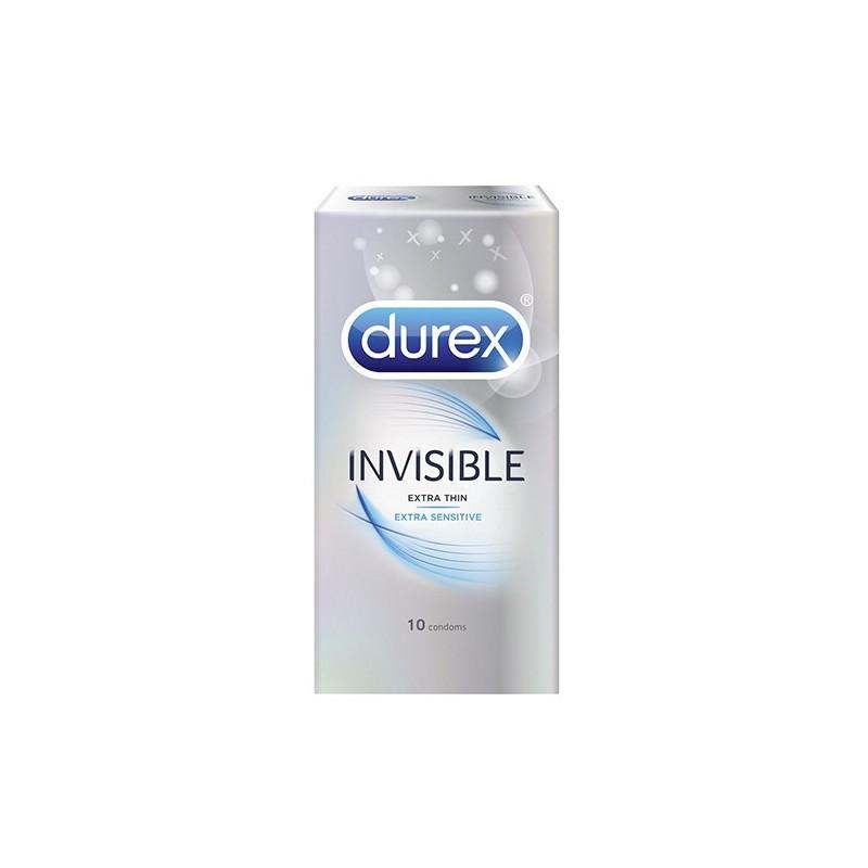 Durex Invisible Extra Sensitive 10tk