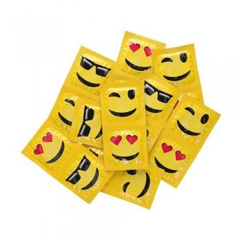 EXS Smiley Face Emoji kondoomid