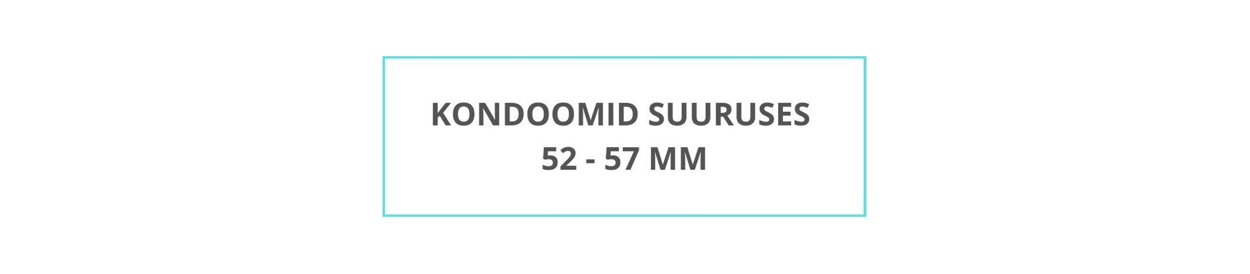 презервативы среднего размера 52-57 мм